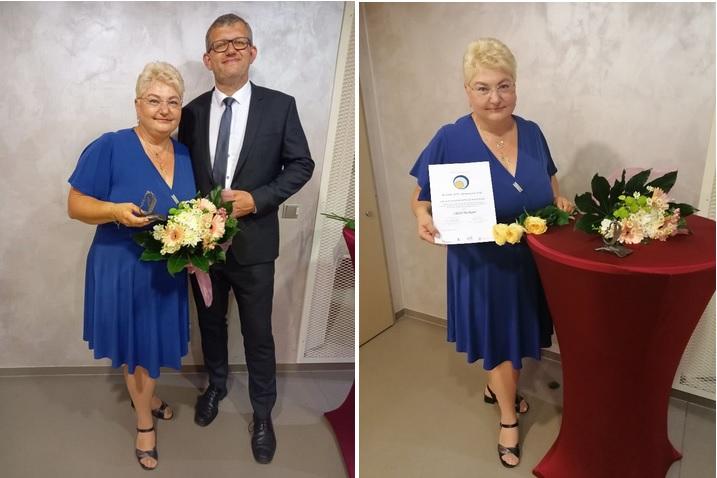 Předsedkyně Spolku žen Rouské, paní Liběna Hrešková, získala cenu Křesadlo 2020. Gratulujeme!!